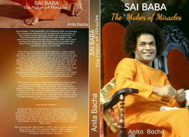 SAI BABA THE MAKER OF MIRACLES   Anita Bacha